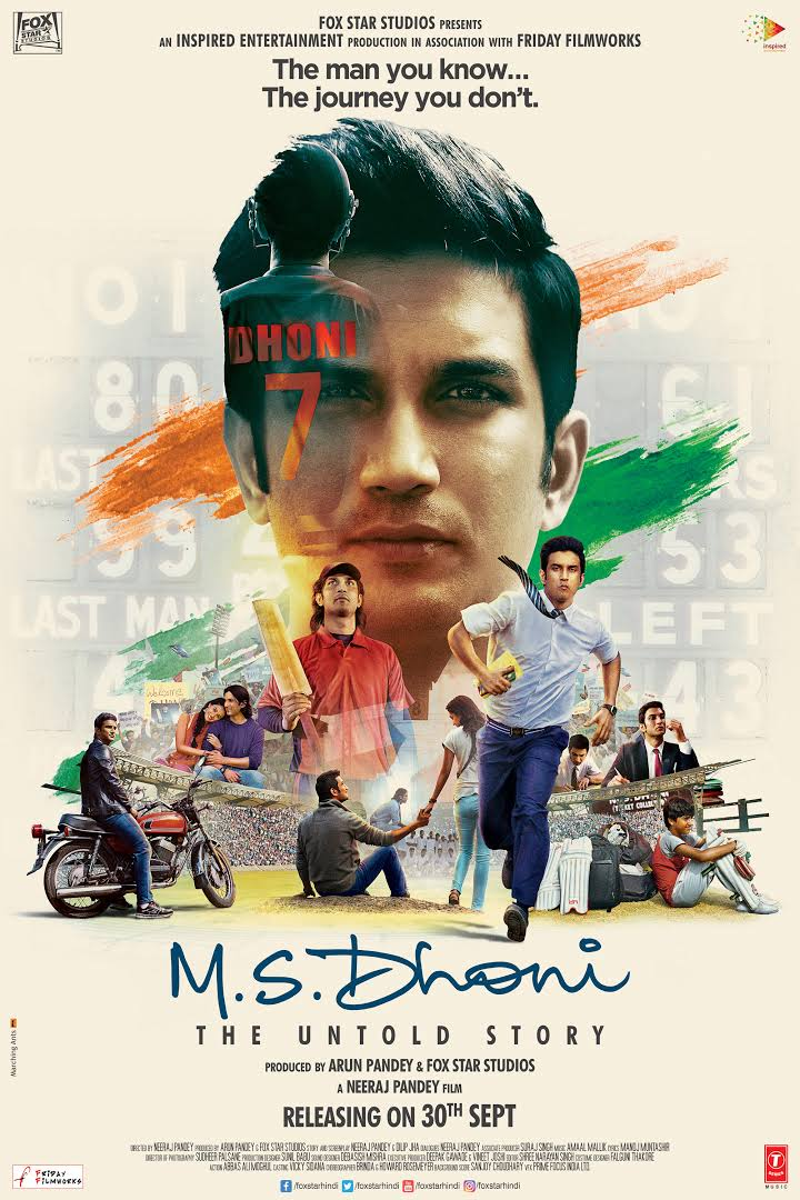 MS Dhoni The Untold Story Full Movie Download HD DVDRip Free