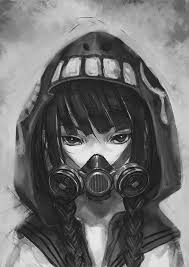 photo collection best anime gas mask