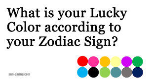 Zodiac Sign What Is Your Lucky Color According To Your Zodiac Sign