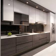 kitchen brown wooden flooring stainless top mount sinksbrown