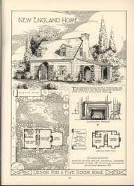 Antique House Plans Lake Shore Lumber U0026 Coal House Plans Homes Inspired By English