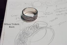 hand made celtic ring by bellchamber rings custommade com