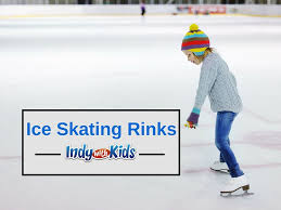 ice skating is a fun cold weather and warm weather activity