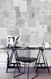 Interior Wallpaper Desings by 25 Best Newspaper Wallpaper Ideas On Pinterest Newspaper Wall