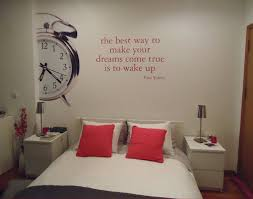make your dream bedroom the best way to make your dreams come true is to wake up wall decal