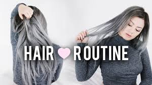 how long does hair ombre last maintaining grey silver hair hair routine for bleached dyed