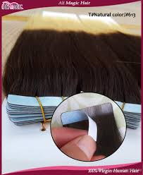 24 In Human Hair Extensions by Ombre Brazilian Hair Two Tone Human Hair Tape In Hair Extensions