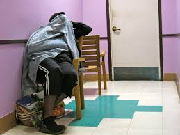 Sleeping Chairs Why Are Elderly Homeless Sleeping In Chairs At Night Kalw