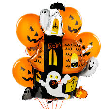 happy birthday halloween images halloween balloons halloween haunted house balloon bouquet