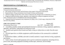 electrician resume examples electrician resume sample electrician