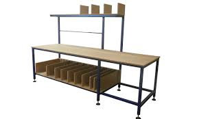 packing table with shelves gallery packing tables by spaceguard