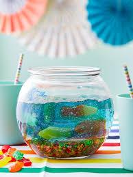 a jello fish bowl for shark week kitchn