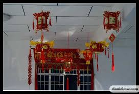 New Year House Decoration by Chinese New Year Memory Daniel Chew The Wanderer
