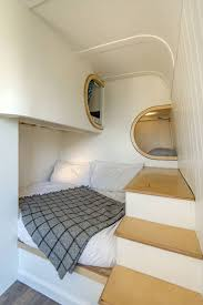 Boat Interior Design Ideas Brilliant Camper Van Conversion Uses Space Saving Boat Design