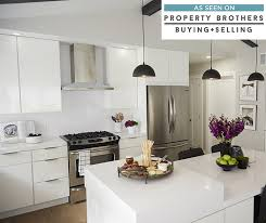 High Gloss Kitchen Cabinet Doors Entranching White High Gloss Kitchen Cabinets At Find