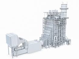 power plant collection volume 01 3d asset cgtrader