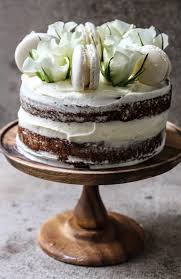 buckwheat honey cake with rose mascapone cream frosting and