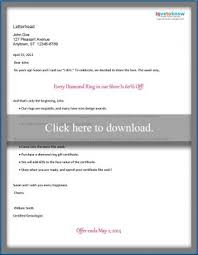 sample of marketing letters to business sample direct mail marketing letters lovetoknow