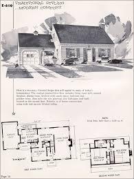 cape cod house plans 1950s pretentious inspiration cape cod style house plans 1950s 15 on