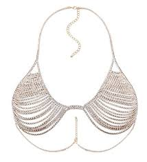women necklace accessories images Keorma high quality women hollow bra chain beautiful shape jpg