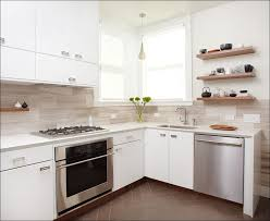 Kitchen  Lowes Backsplash Airstone Backsplash Black Glass - Solid glass backsplash