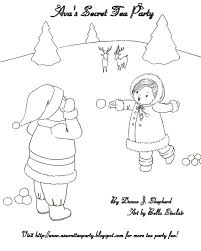 molly coloring pages images
