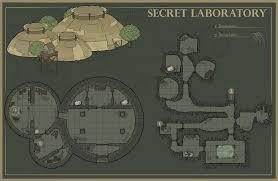 secret map secret laboratory map dndmaps