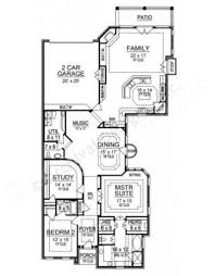 Narrow House Plans Pecan Plantation Narrow Floor Plans Texas Floor Plans