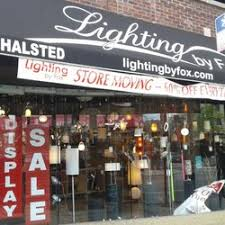 lighting stores chicago south suburbs lighting by fox lighting fixtures equipment 3524 north halsted