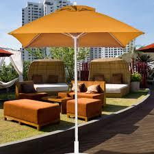 Square Patio Umbrellas Square Umbrellas Buy Square Oval Rectangle Umbrellas At Patio