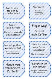 glückskeks sprüche 8 witzige kofferanhänger blau gesteift pdf datei