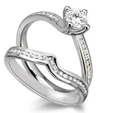 engagement and wedding ring set bridal set engagement rings diamond heaven