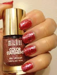 milani color statement nail lacquer glitters adventures in