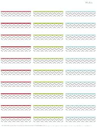 free address label templates