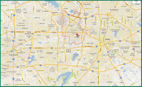 Dallas Crime Map by Dfw Area Map Map Of Dfw Area Texas Usa