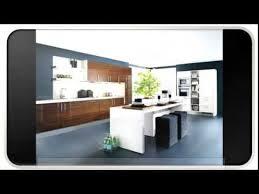 Contemporary Walnut Kitchen Cabinets - blue modern walnut kitchen cabinets youtube