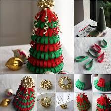 ribbon christmas tree ideas diy ribbon christmas tree