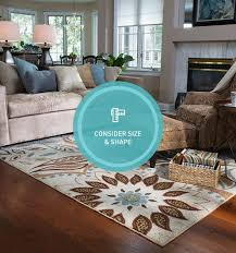 How Big Should Rug Be In Living Room How To Choose An Area Rug