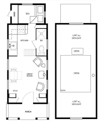 1 Bedroom Cottage Floor Plans by Inspiring Design 11 1 Bedroom Tiny House Floor Plans Cottage Style