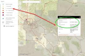 Map Of Greater Phoenix Area by When The Power Goes Out Aps Outage Map Lights Up With Info