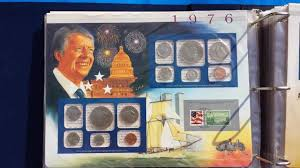 photo album sets u s uncirculated coin mint sets collection album