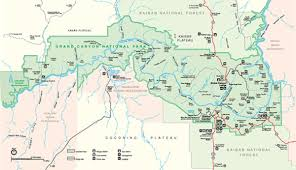 grand map maps of grand national park my grand park