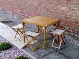 Folding Wood Picnic Table Garden Picnic Tables Second Hand Garden Furniture Buy And Sell