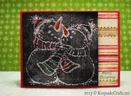 woyww chalk drawing christmas card