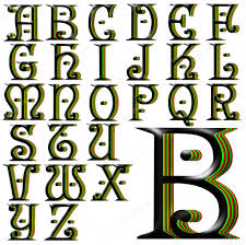schrift design alphabet schrift design stockfoto 52063085