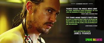 James Franco Meme - james franco s spring breakers oscar caign gets a second ad imgur