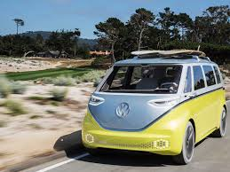 volkswagen microbus vw microbus is back and it is electric volkswagen id buzz