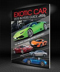car buying guide dupont registry u0027s 2015 exotic car buyers guide