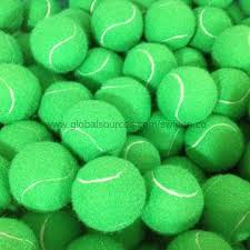 green tennis balls oem orders are welcome global sources