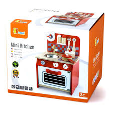 Play Kitchen Red New Viga Mini Kitchen The Discovery Depot Educational Toys In